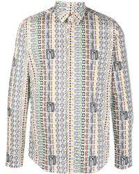 Fendi Рубашка С Логотипом - Многоцветный