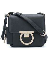 db5e2007a6 Lyst - Ferragamo  batik  Crossbody Bag in Black