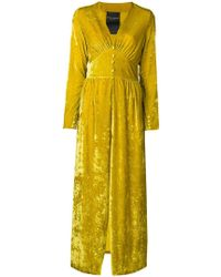 Erika Cavallini Semi Couture - Fitted Waist Dress - Lyst