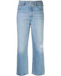 Levi's Straight Jeans - Blauw
