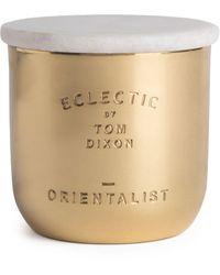 Tom Dixon Orientalist Candle - Metallic