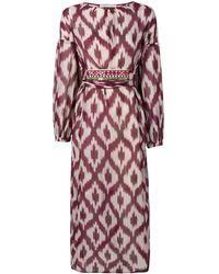 Bazar Deluxe Print Dress - Purple