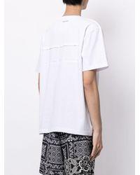 Sacai スローガン Tシャツ - ホワイト