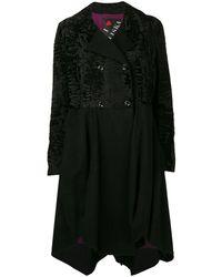 Liska Maja Midi Coat - Black