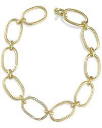 Irene Neuwirth Chain Link Bracelet - Metallic