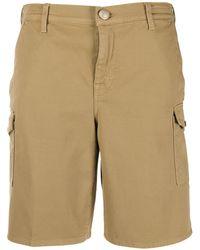 Jacob Cohen Twill Shorts - Bruin