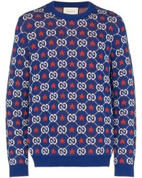 Gucci - GG Sweater Met Logo - Lyst