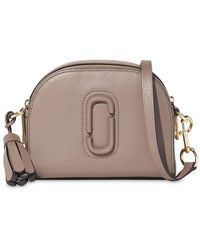 Marc Jacobs Shutter Crossbody Bag - Brown