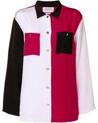 Thom Browne カラーブロックシャツ - マルチカラー