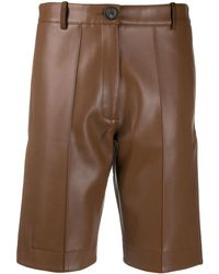 Peter Do Knee Shorts - Brown