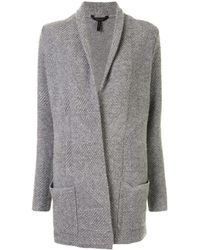 BCBGMAXAZRIA Patch-pocket Cardi-coat - Grey