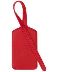 Off-White c/o Virgil Abloh Anhänger mit Reißverschluss - Rot