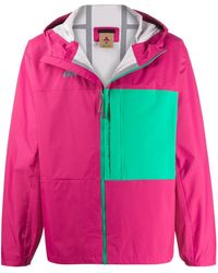 Nike Block Colour Hooded Lightweight Jacket - Pink