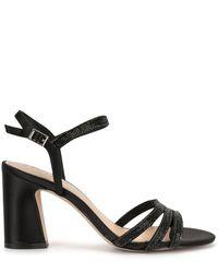 Badgley Mischka Brighton Strappy Sandals - Black