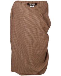 Junya Watanabe - Tweed Wrap Oversized Top - Lyst