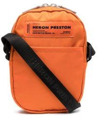 Heron Preston Bandolera con parche del logo - Naranja