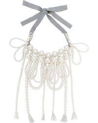Moy Paris - Layered Tassel Necklace - Lyst