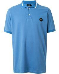 N°21 ロゴ ポロシャツ - ブルー
