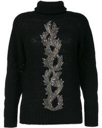 Jo No Fui - Embellished Sweater - Lyst