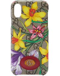 """Gucci IPhone X/XS-Hülle mit """"Flora""""-Muster - Mehrfarbig"""