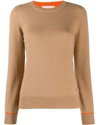 Tory Burch - Round Neck Sweater - Lyst
