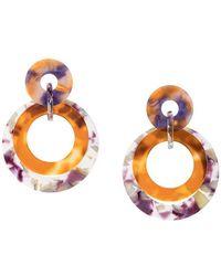 Lele Sadoughi - Marble Drop Earrings - Lyst