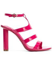 Ferragamo - Strappy High-heel Sandals - Lyst