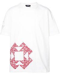 CALVIN KLEIN 205W39NYC - T-Shirt mit lockerem Schnitt - Lyst