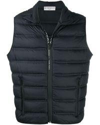Givenchy Padded Gilet Jacket - Black