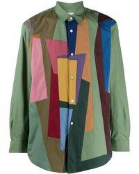 Comme des Garçons - Colour-block Shirt - Lyst