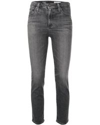 AG Jeans The Isabelle クロップドジーンズ - グレー