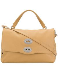 Zanellato - Flat Stud Detail Handbag - Lyst