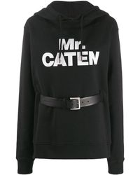 DSquared² Mr Caten Belted Hoodie - Black