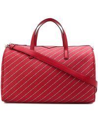 Karl Lagerfeld Дорожная Сумка K/stripe С Логотипом - Красный