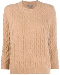 N.Peal Cashmere - Boxy Round Neck Jumper - Lyst