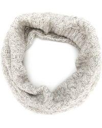Woolrich Ring Scarf - Grey