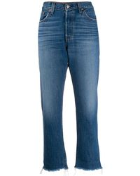 Levi's - Gerade Cropped-Jeans - Lyst