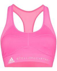 adidas スポーツブラ - ピンク