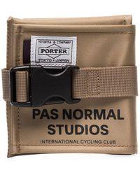 Pas Normal Studios X Porter-yoshida & Co. Brown Saddle Bag