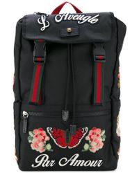 Gucci - Embroidered Techpack - Lyst
