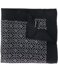 Dolce & Gabbana プリント スカーフ - ブラック