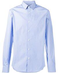 Sandro Chemise à rayures - Bleu