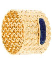 Aurelie Bidermann Peggy lapis cuff - Multicolore