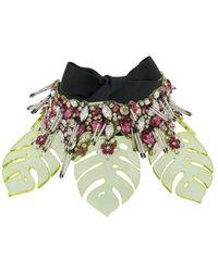 LaDoubleJ - Embellished Choker Necklace - Lyst