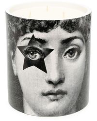 Fornasetti Star Lina Scented Candle - Black