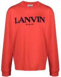 Lanvin ロゴ スウェットシャツ - レッド