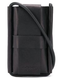 Trippen Crossbody Cell Phone Pouch - Black