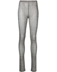 MM6 by Maison Martin Margiela Leggins con estampado pied de poule - Multicolor