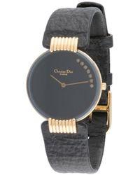 Dior Pre-owned Moon Armbanduhr - Schwarz