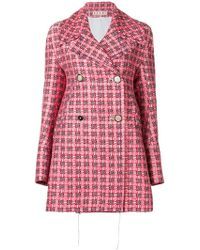 Marni - Double Breasted Coat - Lyst